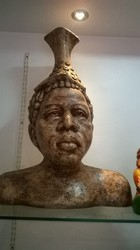 African Nomad Adivasi Statue