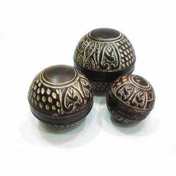 Metal Hand Carved Balls