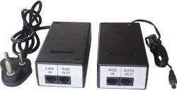 Power Over Ethernet (POE) Midspan Injector & Spliter Adaptor