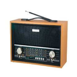 Antique Look Radio