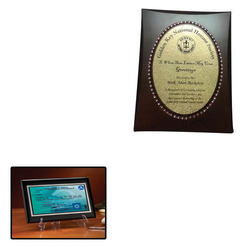 Certificate Plaque for Office