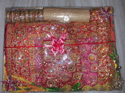 Wedding Saree Packing