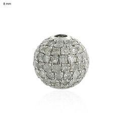 Pave Diamond Findings Jewelry
