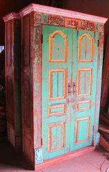 Wooden Almirah Repurposed
