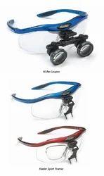 Hi-Res Loupes and Keeler Sport Frames