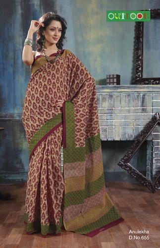 Cotton Saree - Anulekha