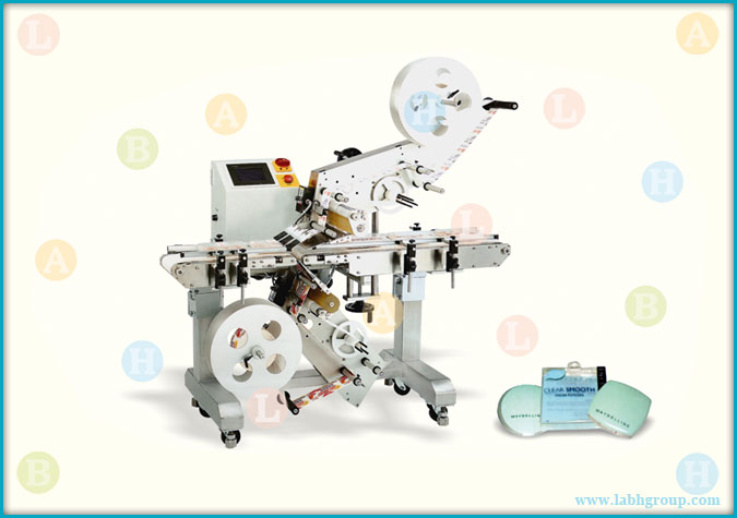 Automatic Top and Bottom Labelling Machine for Self Adhesive Sticker Labels