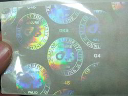 Holographic Transparent Security Overlay for Plastic Cards