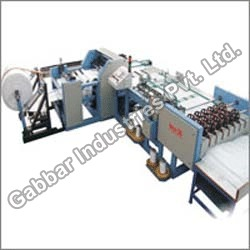 automatic woven sack cutting and stitching machine bcs