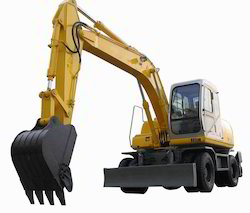 Wheel Excavator Rental Services