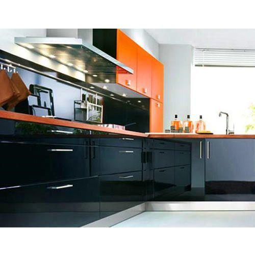 L Wooden Modular Kitchen Manufacturer: Modular Kitchen Furniture