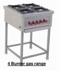Four Burner Continental Gas Range