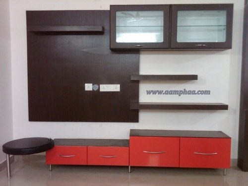 Modern living room tv wall units - Hall Tv Unit Designs At Rs 35000 Piece S Television Wall Unit