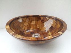 Spawan Wooden Washbasin