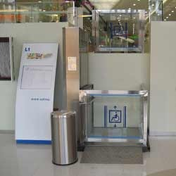 Lift for Shopping Complexes