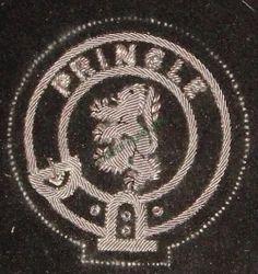 Pringle Hand Embroidered Blazer Badge