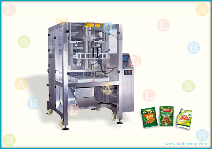 Automatic Servo Pouch Packaging Machine