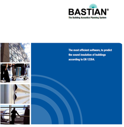 bastian the building acoustics planning system