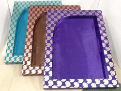 Latest Designer Saree Packing Tray
