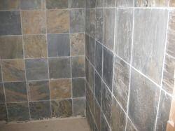 bathroom concrete tile