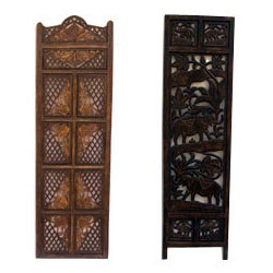 Traditional Wooden Partitions Screen