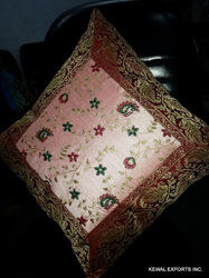Machine Silk Cushion Cover