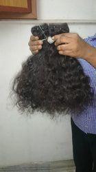 Natural Indian Curly Human Hair