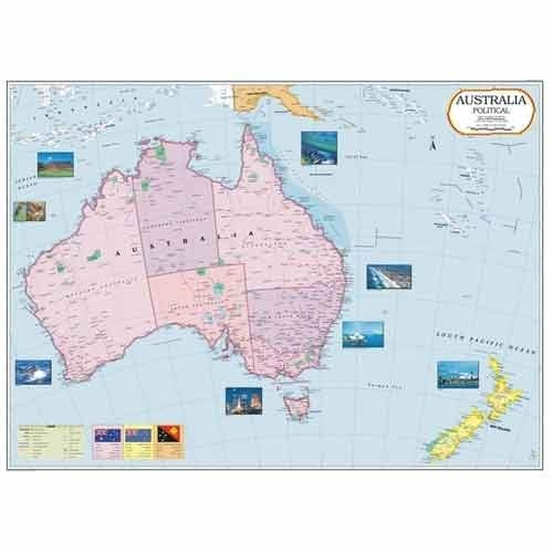 Continent Maps - Australia Map Manufacturer from New Delhi