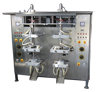 Automatic Double Head Vertical Pouch Packing Machine with Gravity Filler for Ice-pop