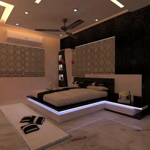Master Bedroom Home Interior Decorators Service Provider From Kolkata