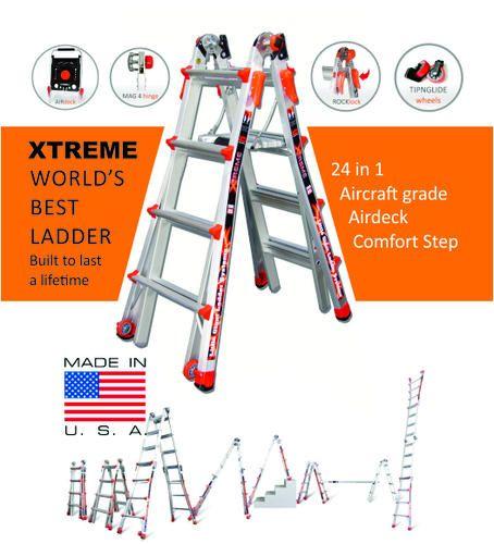 Multi Purpose Ladders Multi Purpose Ladders 24 In 1