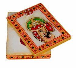 Marble Kumkum Box