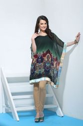 Ladies Printed Kaftan