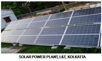 Solar Power Plant, LnT, Kolkata