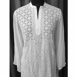 Long Chikan Kurta