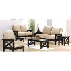wooden sofa set wooden frame sofa set manufacturer from bengaluru