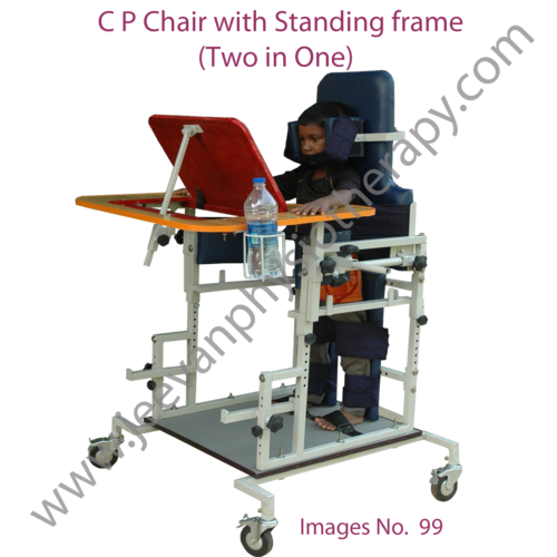 Standing Frame with C P Chair