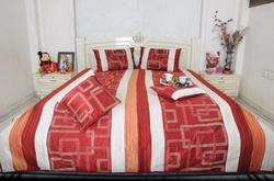 Fancy Silk Dupion Bed Sheet