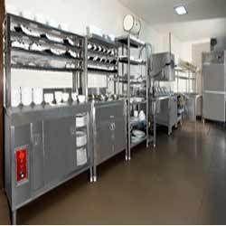 Hot Case Counter Dish Storage