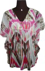 Printed Polyester Tunic