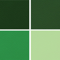Green Manmade Leather Cloth