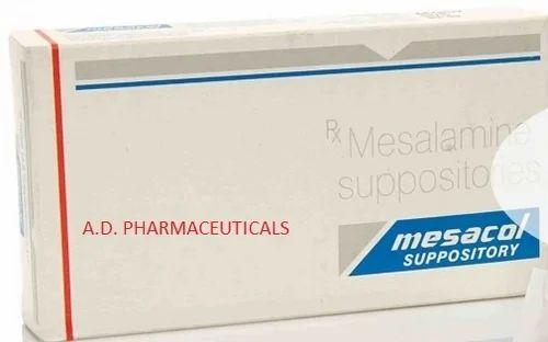 Mesacol Suppository (Mesalamin 500 mg Suppository)