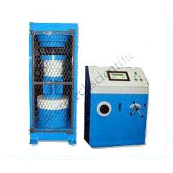 Semi Automatic Digital Compression Testing Machine