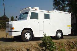 bullet proof cash van on tata 407