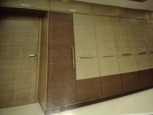 Two Shade Wooden Wardrobe