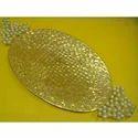 Pearl Beaded Gift Platter ( PL - RHF - 31L )