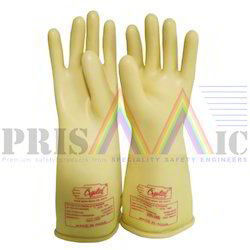 Electrical Insulation Rubber Gloves