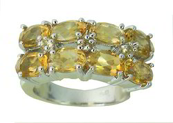 Yellow Gemstone Ring