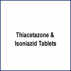Thiacetazone & Isoniazid Tablets