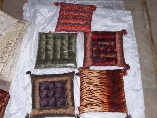 Floor Cushion - Floor Cushion Velvet Border Manufacturer from Jaipur